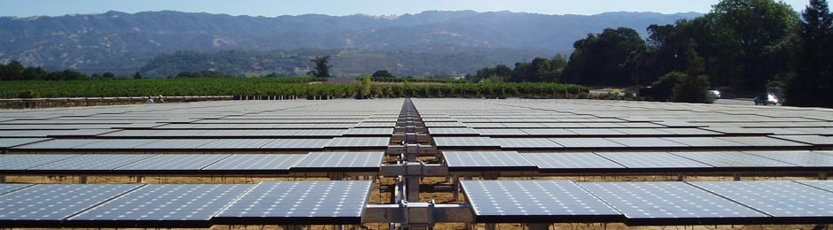 solar installation vinyards